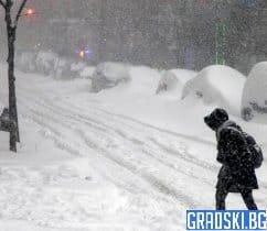 В цялата страна настъпи тежка зима