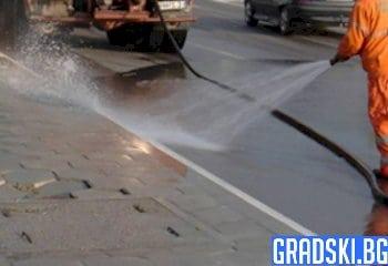 Улиците в София ще се мият значително повече през 2020