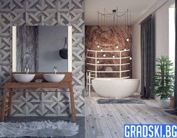 Луксозни плочки за баня – кои са последните тенденции