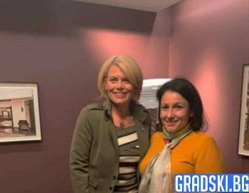 Десислава Танева и Юлия Кльокнер се срещнаха