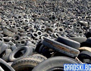 Контролът върху горенето на гуми през зимата ще бъде затегнат