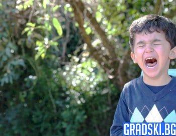 Гневни изблици при деца