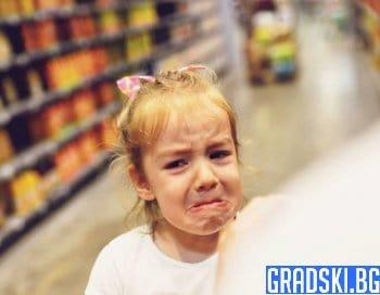 Детски изблици на гняв