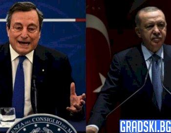 Ердоган посочи с пръст премиера на Италия