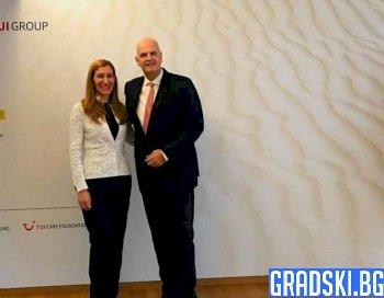 Ангелкова проведе среща с представители на немския туристически бранш