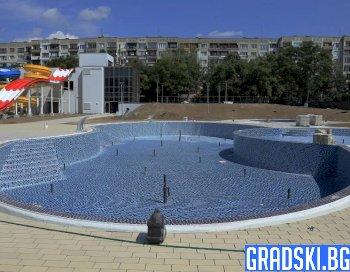 Новият аквапарк в София