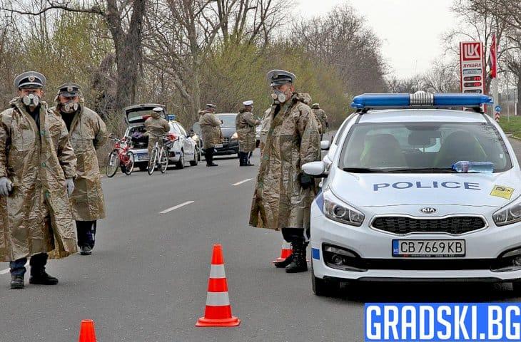 Двама полицаи с положителен тест за коронавирус след масовото тестване