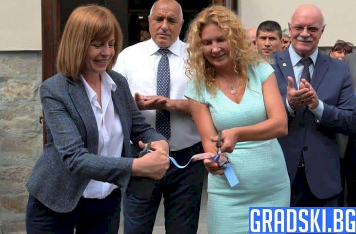 Фандъкова и Борисов откриха новата сграда на НСА