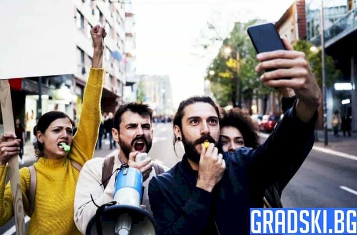Останаха ли мирни протестанти