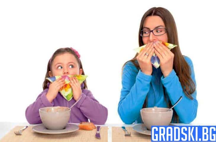 Маниери, на които да научим децата си