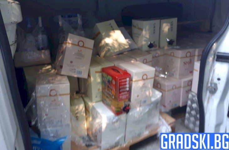 Нелегален алкохол, конфискуван във Варна