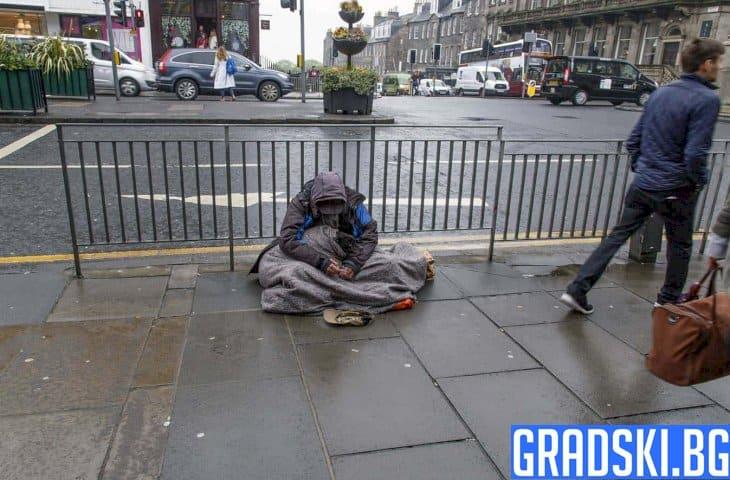 Броят на бездомните британци нараства все повече