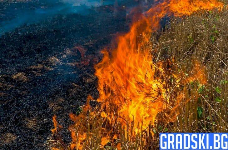 Огън в Хасхково