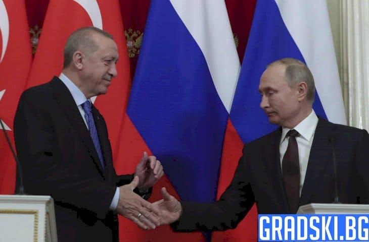 Русия и Турция се договориха да прекратят огъня в Идлиб