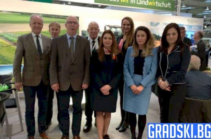 Ще сътрудничим с Германия по отношение на зелените практики