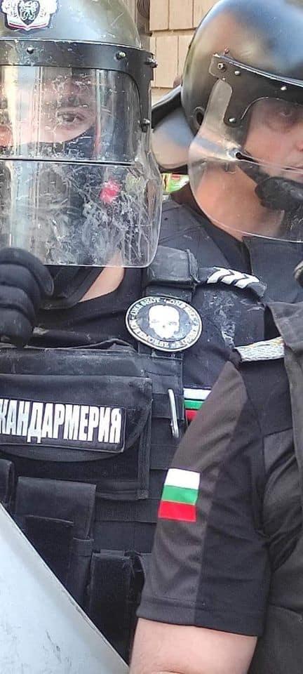 Охранителна фирма на протеста